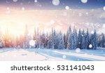 Mysterious Winter Landscape...