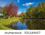 shining day in french canada.... | Shutterstock . vector #531169657
