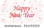 happy new year text on white... | Shutterstock . vector #531192523