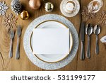 christmas new year celebration... | Shutterstock . vector #531199177