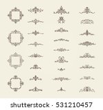 vintage decor elements and... | Shutterstock .eps vector #531210457