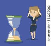 caucasian business woman... | Shutterstock .eps vector #531272083