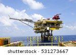 offshore construction platform... | Shutterstock . vector #531273667