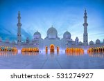 sheikh zayed mosque  grand... | Shutterstock . vector #531274927