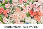 flowers and love concept  ... | Shutterstock . vector #531290137