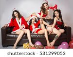 groups of sexy beautiful asian... | Shutterstock . vector #531299053