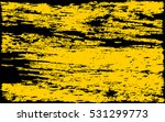yellow paint smeared. grunge... | Shutterstock .eps vector #531299773