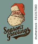 Seasons Greetings Retro Card....