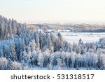 Winter Landscape View Of The...