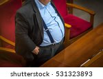 man with overweight. symbolic...   Shutterstock . vector #531323893