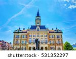 city hall in the old part of... | Shutterstock . vector #531352297