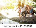 african american family... | Shutterstock . vector #531352747