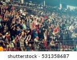 defocused background of crowd... | Shutterstock . vector #531358687