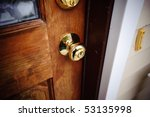 door knob | Shutterstock . vector #53135998