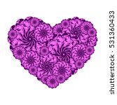 picture of the heart of... | Shutterstock .eps vector #531360433