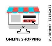 modern flat editable line... | Shutterstock .eps vector #531362683