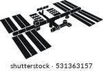 international space station | Shutterstock .eps vector #531363157