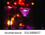 colorful cocktail with splashes   Shutterstock . vector #531388837