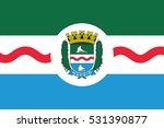 flag of maceio  alagoas  brazil....   Shutterstock .eps vector #531390877