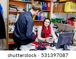 office managers in the... | Shutterstock . vector #531397087