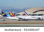 los angeles california   dec. 3 ... | Shutterstock . vector #531400147