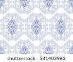 seamless pattern in renaissance ...