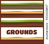 seamless grounds  soil and...