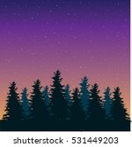 beautiful forest illustration... | Shutterstock .eps vector #531449203