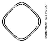 grunge stamp draft mockup of... | Shutterstock .eps vector #531449227