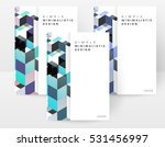 geometric background template... | Shutterstock .eps vector #531456997
