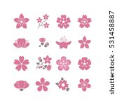 Cherry Pink Flower  Spring...