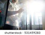 weightlifter | Shutterstock . vector #531459283