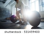 heavy athletics | Shutterstock . vector #531459403
