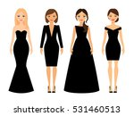 beautiful women in different... | Shutterstock .eps vector #531460513
