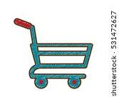 drawing shopping cart online...