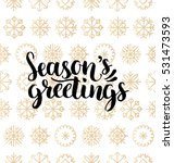 Vector Season's Greetings...