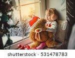 Little Girl In A Santa Claus...