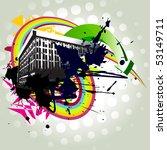 vector building abstract... | Shutterstock .eps vector #53149711