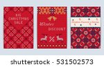 vector illustration of knitted... | Shutterstock .eps vector #531502573