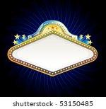 vegas casino sign | Shutterstock .eps vector #53150485