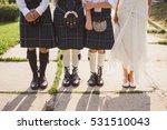 groom and groomsmen wearing... | Shutterstock . vector #531510043