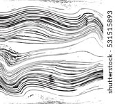 distressed lines wavy black and ... | Shutterstock .eps vector #531515893