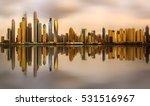 panoramic view of dubai marina... | Shutterstock . vector #531516967