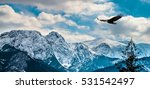 winter mountains panorama of... | Shutterstock . vector #531542497