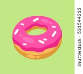 donut | Shutterstock .eps vector #531544213