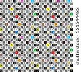 geometric seamless pattern  ...   Shutterstock .eps vector #531544483