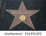 hollywood  ca   december 06 ... | Shutterstock . vector #531551293