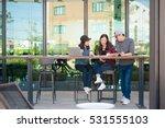 team group freelancer are... | Shutterstock . vector #531555103