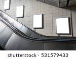 blank billboard located in...   Shutterstock . vector #531579433