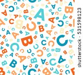 seamless vector pattern  ...   Shutterstock .eps vector #531598123